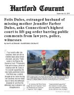 Click for pdf: Fotis Dulos, estranged husband of missing mother Jennifer Farber Dulos, asks Connecticut's highest court to lift gag order barring public comments from lawyers, police, witnesses